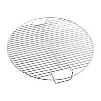 1PC BBQ Round Meshes Replacement Mesh Wire Net Nonstick Metal Steel Grilling Mesh Cooking Grill Grid Grate BBQ Accessories 17.5