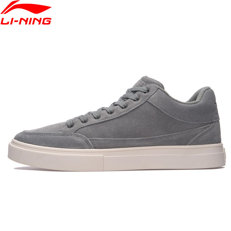 Li-Ning Men LN Remodel Walking Shoes Leisure Breathable LiNing Classic Sports Shoes Wearable Sneakers AGCM143 YXB099 li ning men dominator basketball shoes leather support lining wearable sports shoes li ning breathable sneakers abpm027