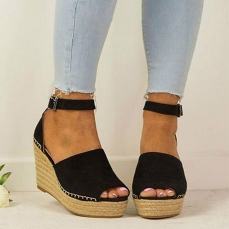 Women Sandals 2018 Summer Shoes Female Platform Sandals 8CM High Heels Sandals Shoes Woman Peep Toe Wedges Shoes For Women Pumps л о калинина владимир климов