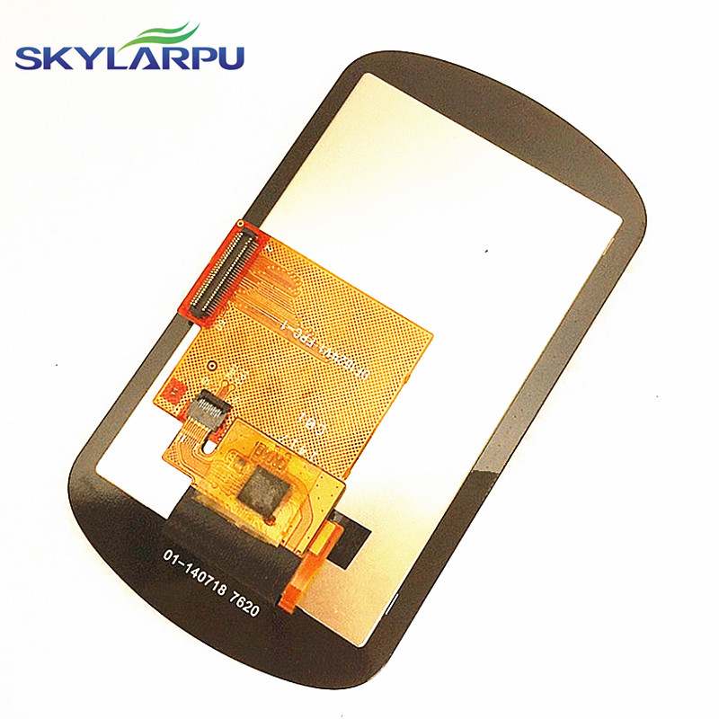 skylarpu for DF1624V1 FPC-1 LCDs for Garmin eTrex Touch 35t Handheld GPS display Screen with Touch screen digitizer replacement new garmin etrex 10 handheld outdoor hiking gps receiver 010 00970 00