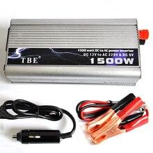 TBE 1500 Ватт 1500 Ватт модифицированный синусоидальный USB Инвертор мощности автомобиля лодки DC 12 В в AC 220-240 в конвертер Авто адаптер