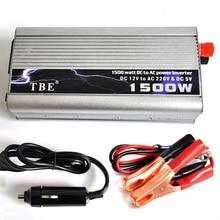 New TBE 1500watt 1500W Modified Sine Wave USB Power Inverter Car Boat DC 12V to AC 220-240V Converter Auto Adapter