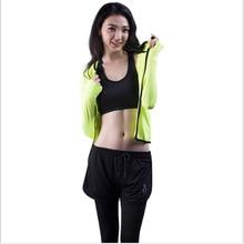 3pcs/set SportsWear Sport Set Women jacket+vest+Fake two pieces Pants Tank Top Yoga Set Fitness Tracksuits Running Gym Sport Set