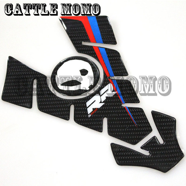 New D Carbon Motorcycle Stickers Decals Emblem Protection Tank - Bmw motorcycle stickers decals