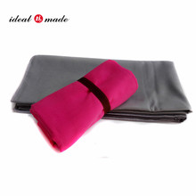 Perfect mate yoga travel towel custom microfibre sports towel with bag by Idealmade