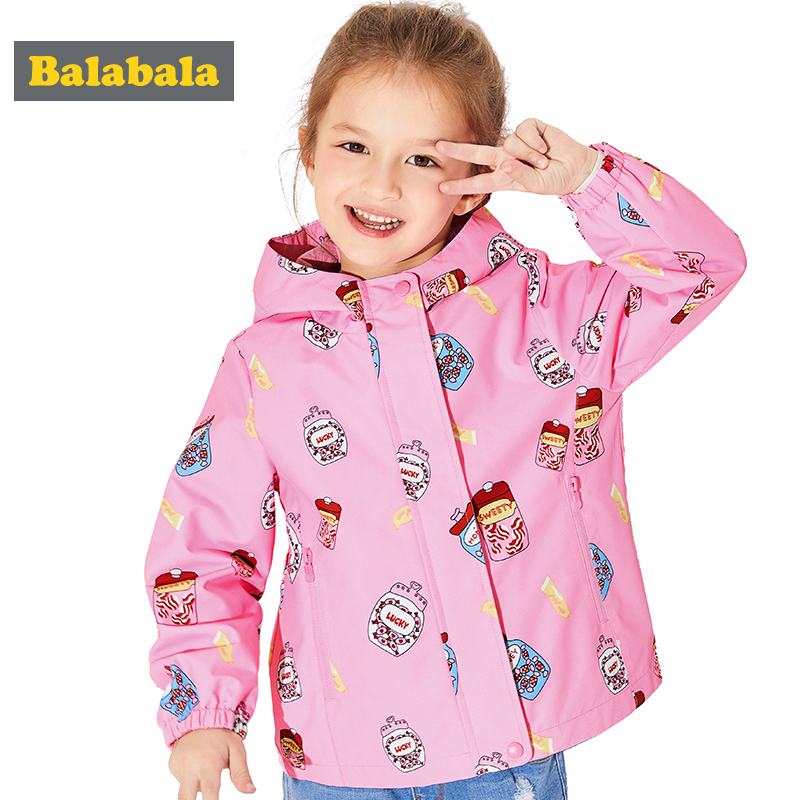 6c67994ae Balabala girls outerwear children clothing spring jacket with cute ...