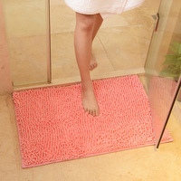 50x80cm 19 X31 Microfiber Bath Mat Bathroom Carpet Soft Comfortable Material Anti Slipping Absorbent Bath Rugs