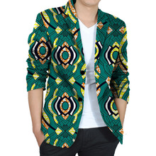 Africa Style Print Men Suit Jacket African Festive Blazers For Party Customize African Man's Suit Of Africa Costume