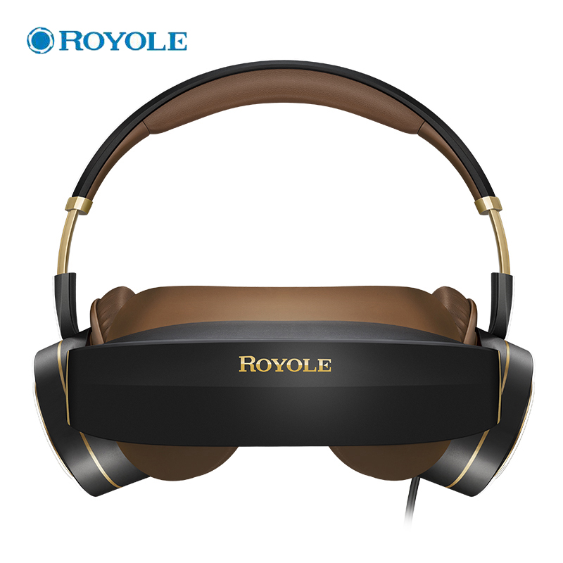 ROYOLE Touch Control VR Glasses All In One With HIFI Headphones 3D Virtual Reality Glasses 1080P HDMI Immersive Cinema For PC мультиварка marta mt 4309 900 вт 5 л белый серебристый