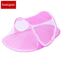 Bed-Nets Mosquito-Nets Portable Cradle Sleeping-Cribs Folding Baby New Infant Ship-Type