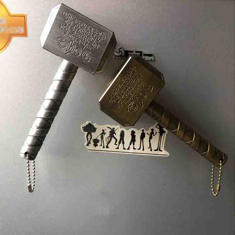 Marvel Raytheon Magnet Beer Bottle Openers Hammer Of Thor Shaped Beer Bottle Opener With The Avengers