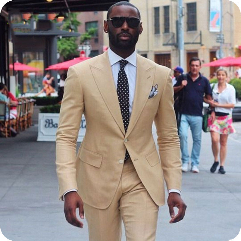 men suit peaked lapel (6)