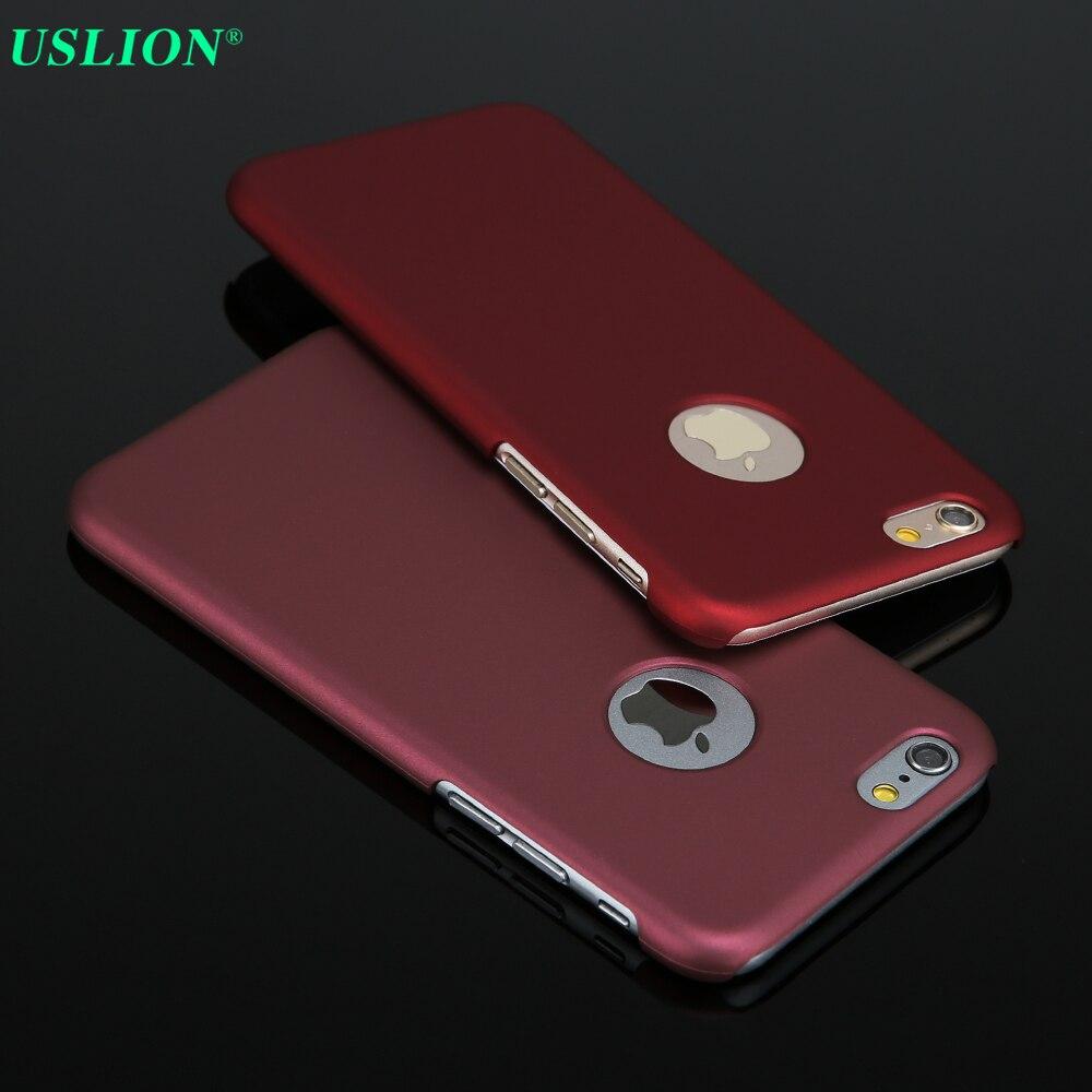 Nuevas cajas del teléfono para iphone 6! lujo ultra delgado teléfono de la contr