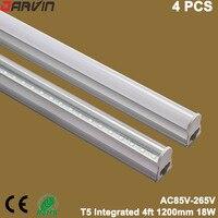 Integrated T5 Led Light 4ft 1200mm Led Tube Lamp Fluorescent Light 18W 110V 220V Led High
