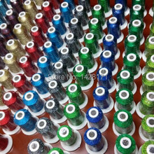 Бренд Simthread Madeira популярные цвета 500 м металлическая нить для вышивки+ 20А пластиковая бобина с бесплатной доставкой