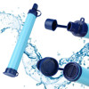 Camping Hiking Emergency Life Survival Portable Purifier Water Filter Straw Gear Safety & Survival 2