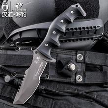 HX на открытом воздухе 440C Лезвие Тактический прямой охотничий нож K10 Ручка Кемпинг выживания спасательные ножи с K оболочка EDC инструмент