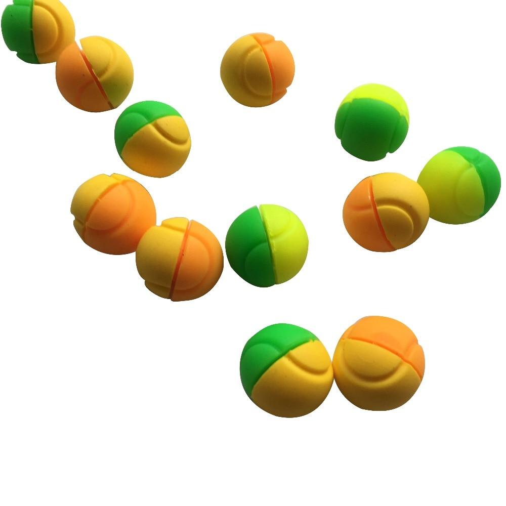 10 pcs BARU twin warna bals reka bentuk raket racket getaran dampeners / tenis peredam / aksesori tenis