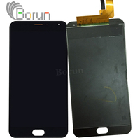 Tested For MEIZU M2 NOTE LCD Display Touch Screen Replacement For M2 Note Screen Black Digitizer