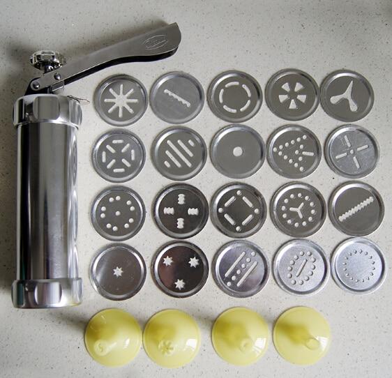 PlasticAlloy Chip Cookie Press Gun Biscuit Maker Cake