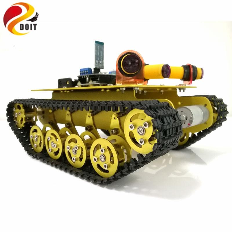 DOIT TS100 Bluetooth controllo ostacoli ostacolo Robot Crawler Tank - Giocattoli con telecomando