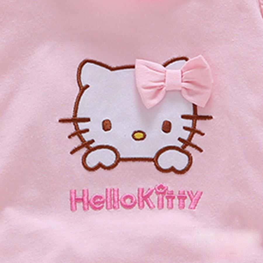 Summer Style Baby Rompers Dziewczyny Ubrania Bawełniane Hello Kitty - Odzież dla niemowląt - Zdjęcie 3
