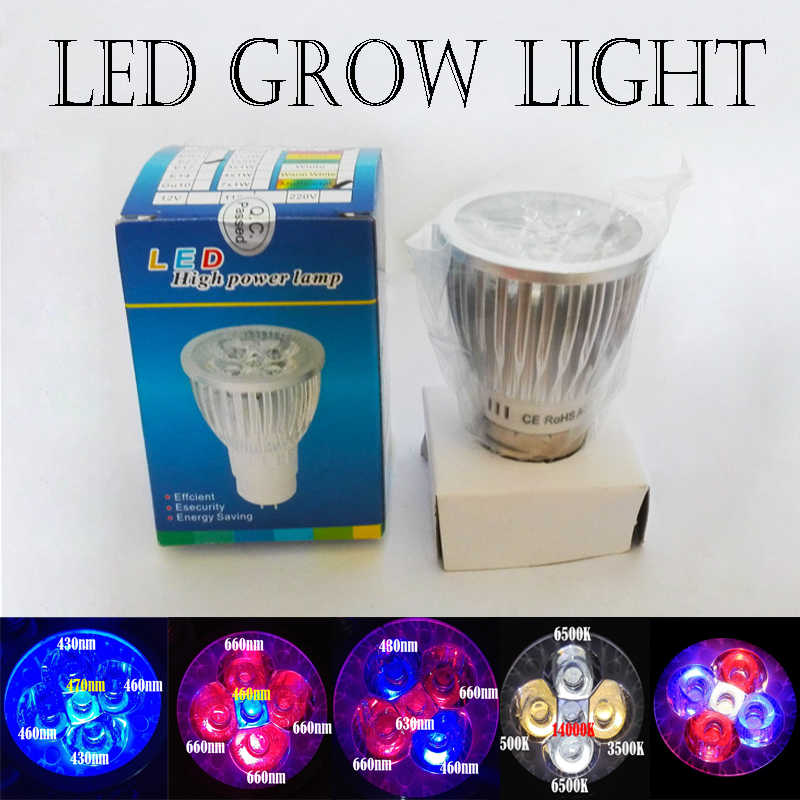 LED Grow Light Full Spectrum For Hydroponic Garden Greenhouse & Grow Tent Red(660nm) IR(730nm)