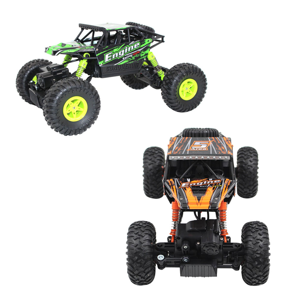 off road rc car model 118 24g 4wd rock crawler remote control car toy 9kmh high speed dirt bike boy kids rc car toy gift