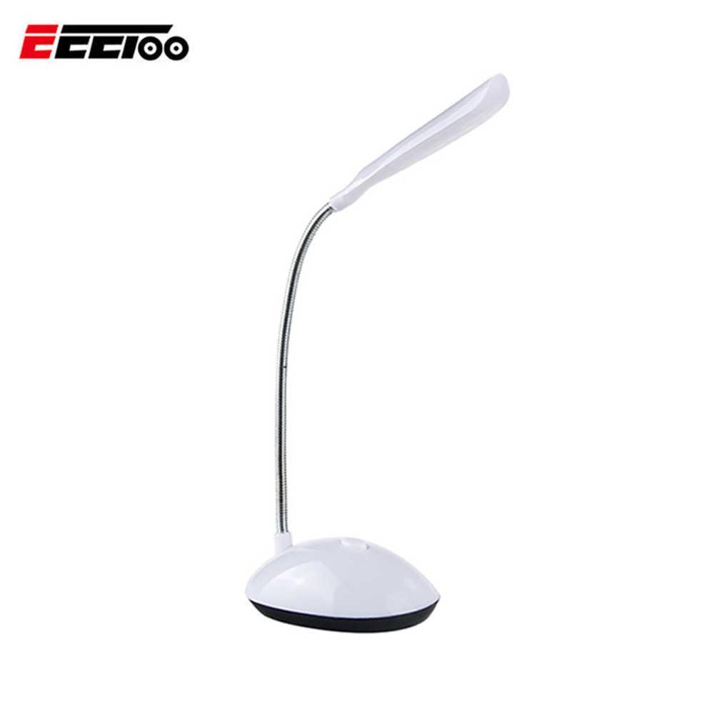 EeeToo, портативный светодиодный Настольный светильник, для детей, для защиты глаз, для студентов, для учебы, офиса, для чтения, светодиодный, Настольный светильник, на батарейках