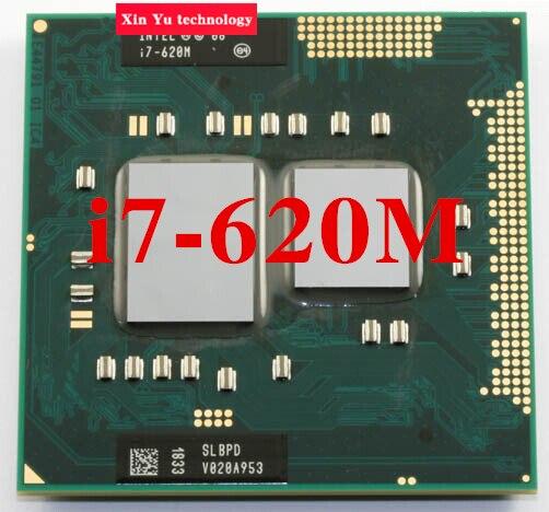 Core i7 620 Mt 2,66 GHz 4 Mt Dual Core Vier threads...