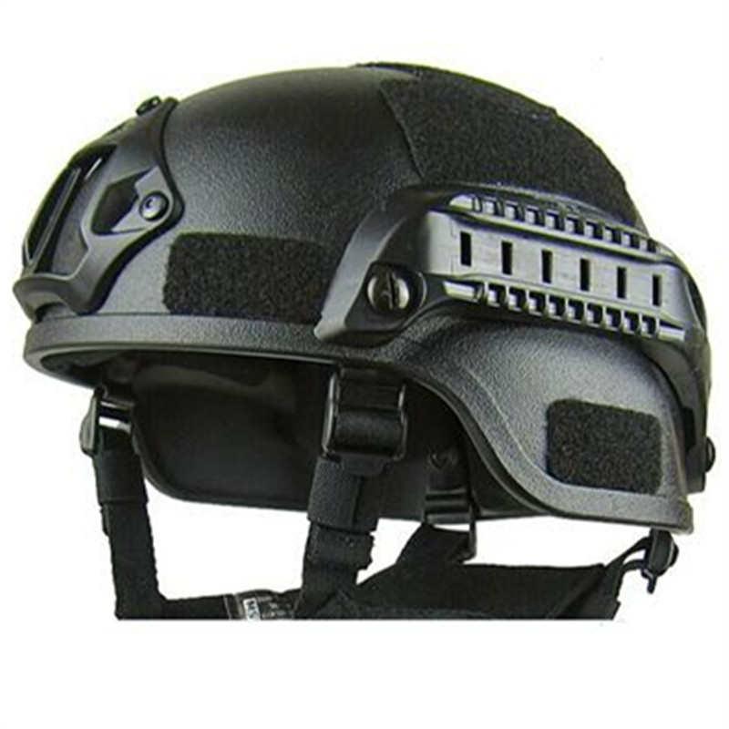 Casco MICH2000 al aire libre IDEAL producido ABS material super táctico móvil casco ACH militar
