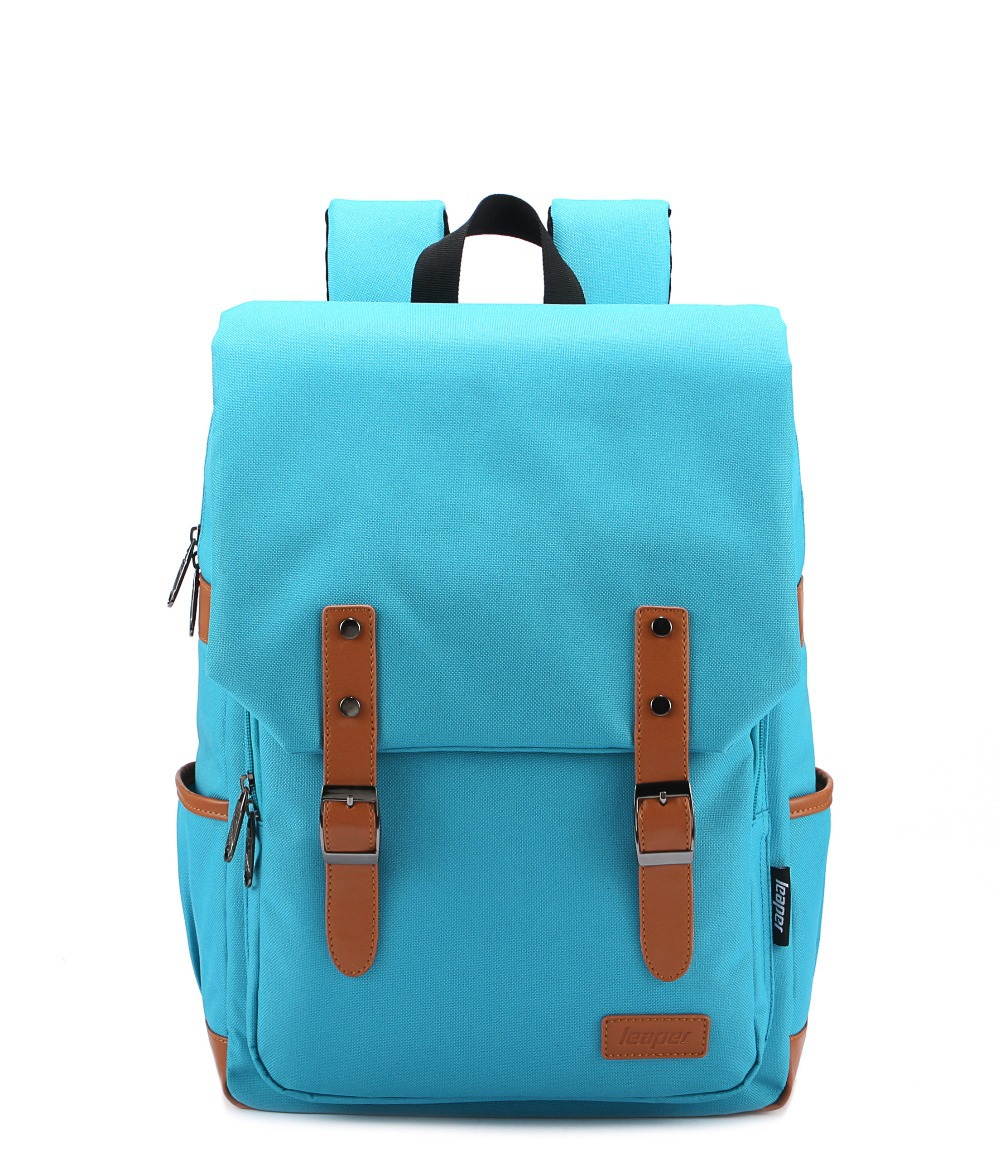 New spring 2014 canvas backpack women travel bags kids ...