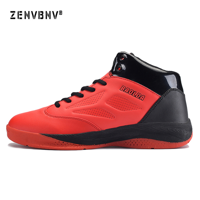 Zenvbnv 2018 Brand Mens Unisex Basketball Shoes Outdoor High Top Sneakers  Ultra Boost Jordan Ankle Couple 05ef1d033