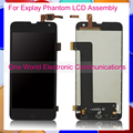 Black 5.0'' New For Explay Phantom LCD Screen Display Digitizer With Touch Screen Complete Assembly Free shipping Tracking Code