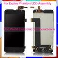 Negro 5.0 ''Nuevo Para Explay Phantom LCD Screen Display Digitalizador Con Pantalla Táctil de Montaje Completo Código de Seguimiento del envío libre