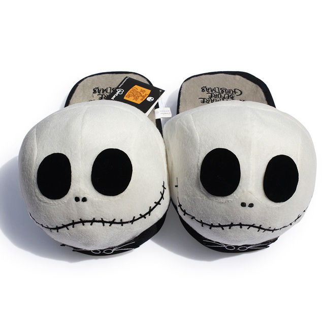 new arrival 11 26cm slipper the nightmare before christmas stuffed plush slippers for adult