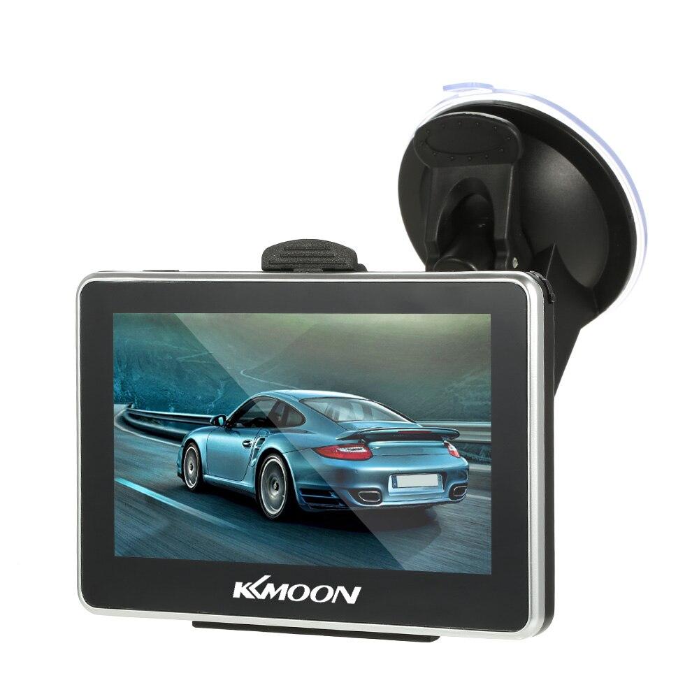 KKmoon 4 3 inch font b Car b font Portable GPS Navigation 128M 8GB FM Video