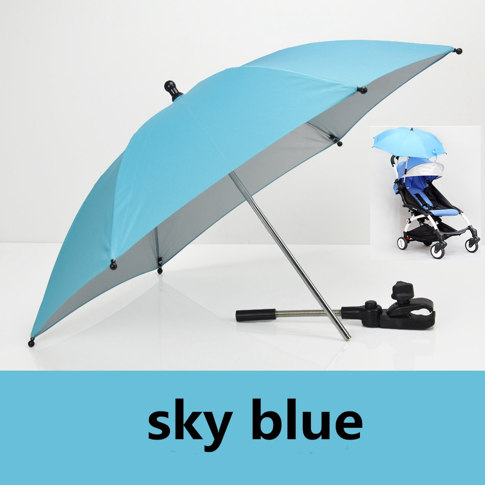 2018 New Baby Stroller Sunshion Umbrella Accessories Colorful baby Children Pram Shade Parasol Adjustable Folding For Chair