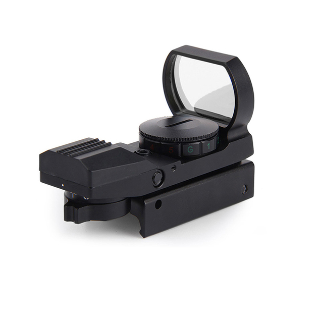 11 /20 mm Rail Riflescope 22x33mm SLR lens wide sight Holographic Red/green Dot Sight Reflex 4 Reticle Tactical Gun Accessories