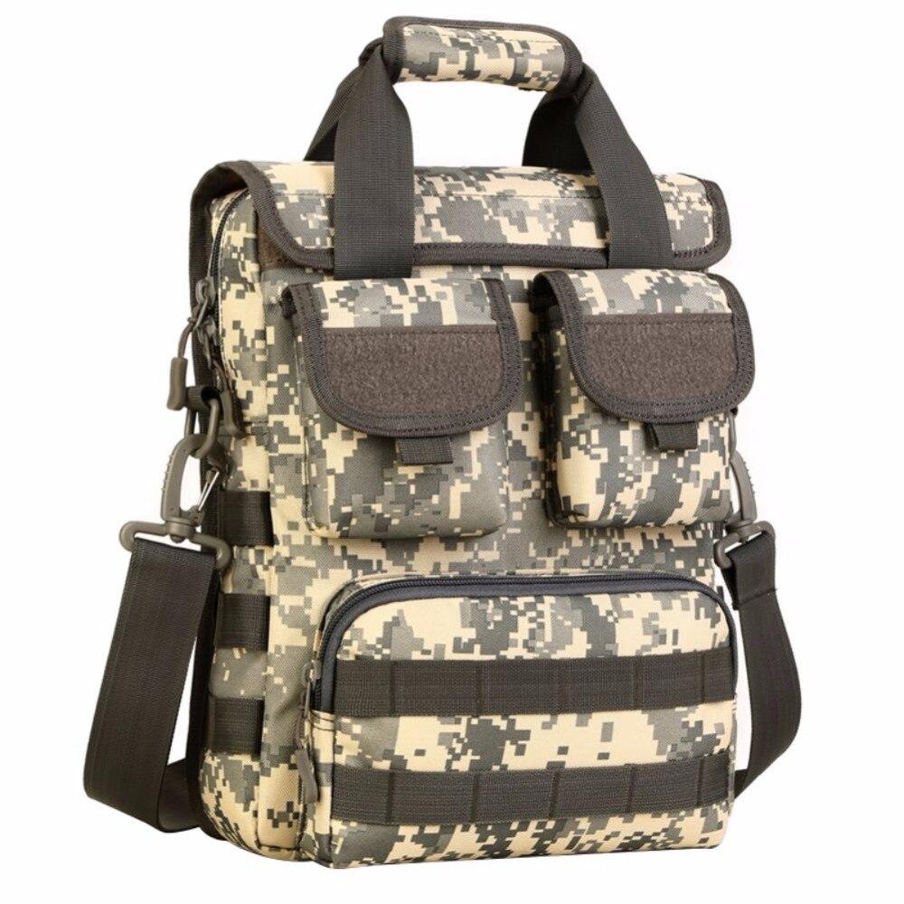Outdoor Military Tactical Outdoor Nylon Shoulder Messenger Bag Handbags Briefcase  for 14 Laptop/Sony/Canon/Nikon/Olympus/iPad men 1000d nylon messenger shoulder bag military student bag trekking briefcase laptop pack