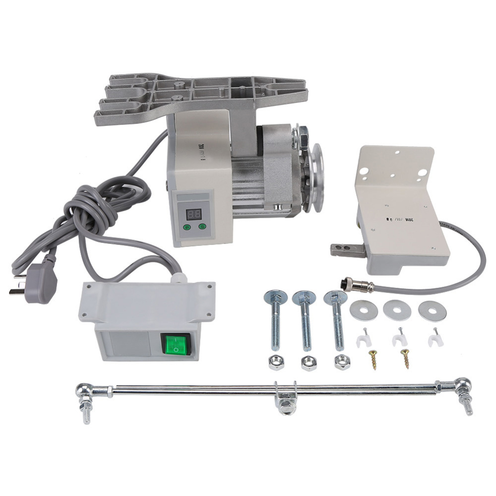1 pz motore a CORRENTE ALTERNATA Motore Brushless 220 v 400 w 4500 rpm Regolabile Brushless Motore per Macchina Da Cucire Industriali