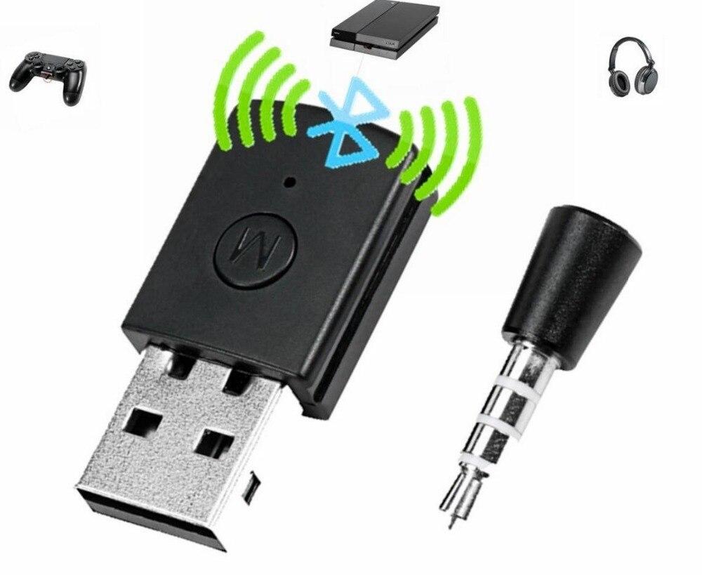 Последняя версия для <font><b>Bluetooth</b></font> гарнитуры Наушники <font><b>Bluetooth</b></font> 4.0 адаптер USB Dongle для <font><b>PS4</b></font> PlayStation 4 консоли контроллера