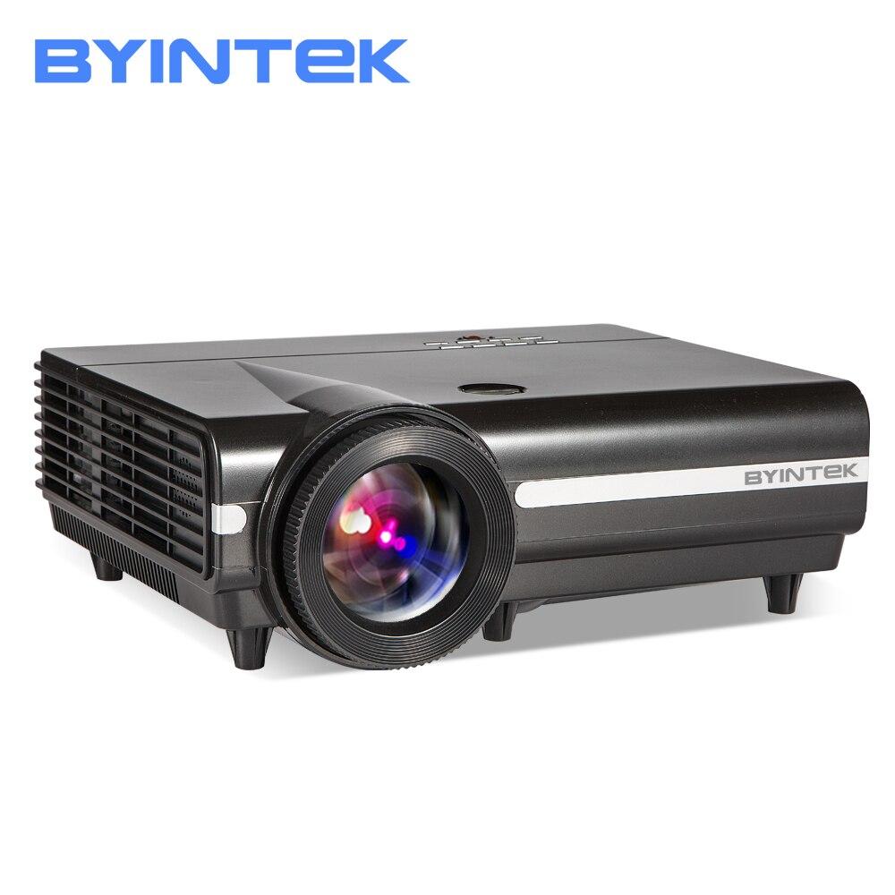 BYINTEK MOON BT96Plus голограмма 200 дюйма светодио дный видео HD проектор для домашнего Театр Full HD 1080p (опционально Android 6,0 Поддержка 4 К)
