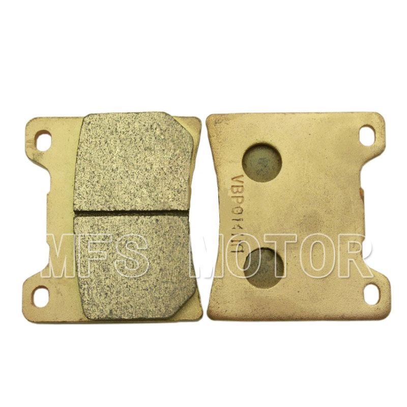 Motorcycle Part Sintered Rear Brake Pads For Yamaha XJR1300 1998-2001 XJR1200 1992-1998 YZF600 R6 1999 2000 2001 2002 2003 motorcycle brake pads for yamaha rz50 tw125 tw200 yp250 yzf600 yzf1000 r1 mbk yp125 yp250 italjet linhai new