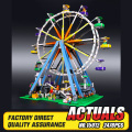 DHL LEPIN 15012 2478Pcs City Creator Expert Ferris Wheel Model Building Kits Blocks Bricks Toys Compatible  10247