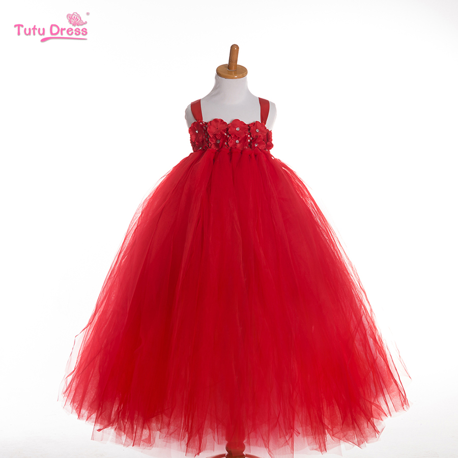 2016 New Baby Girl Tutu Dress Children Clothing Princess Party Style Dress Girls Kids Girls Clothes
