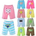 Baby shorts boy and girl short pants  5 pieces/ lot 2015 summer  cotton tracksuits sport  pp pants hot sale baby clothing