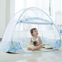 Baby Bedding Crib Netting Folding Tent Baby Mosquito Nets Bed Mattress with Foldable Bracket