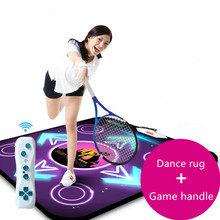 Nowy bardzo duże Motion Sensing taniec pad koc mata taneczna joga mata dla tv pc pad TV grać w gry Fitness, 2 sztuk pilota