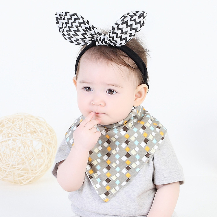 New Baby Cartoon Bibs Scarf Newborn Infant Feeding Clothes Bandana Drool Bib Toddler Boys Girls Baby Dress Accessories